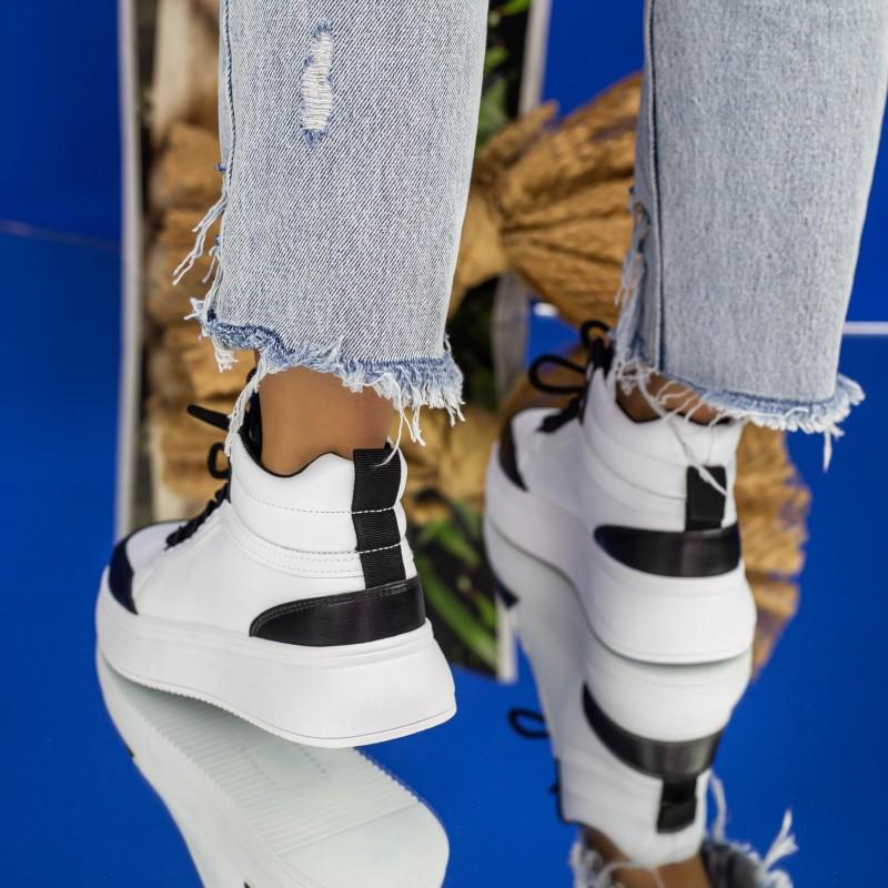 Ghete Dama 961 GD Orange Fashion