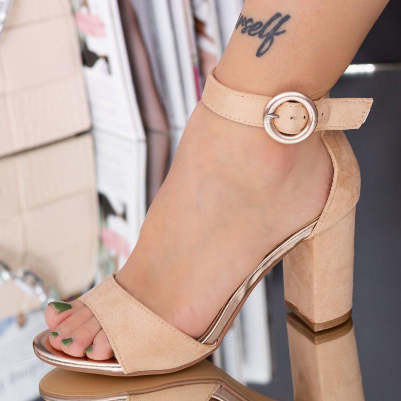 Pantofi Sport Dama cu Platforma WLGH6 Black Mei