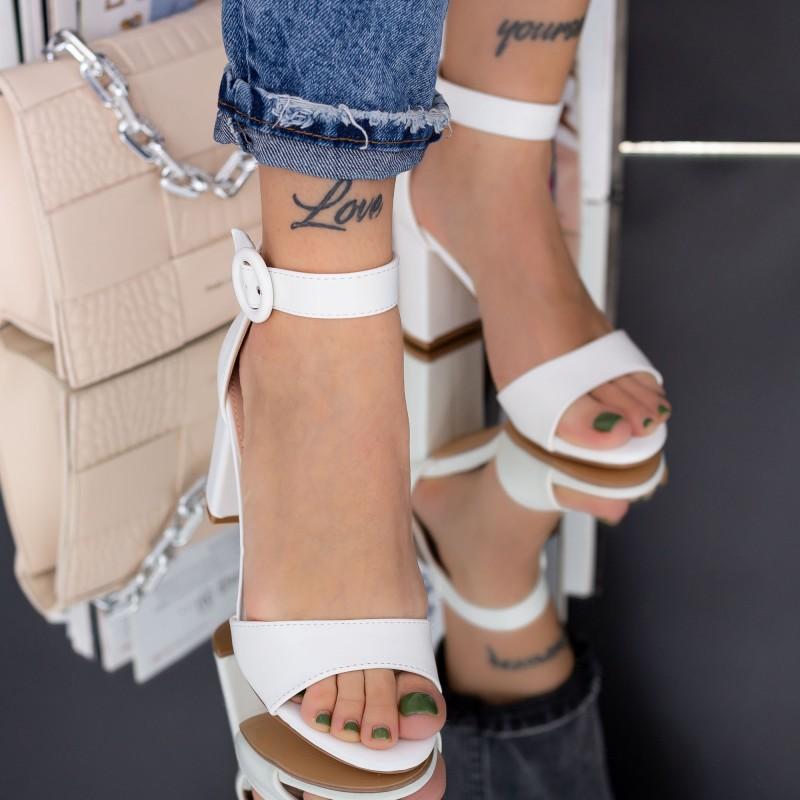Pantofi Sport Dama cu Platforma WLGH6 Yellow Mei