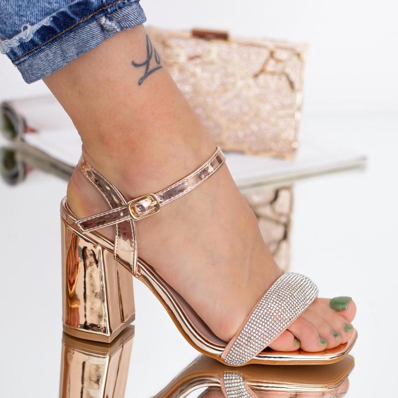 Pantofi Sport Dama cu Platforma 802 PSDP White Mei