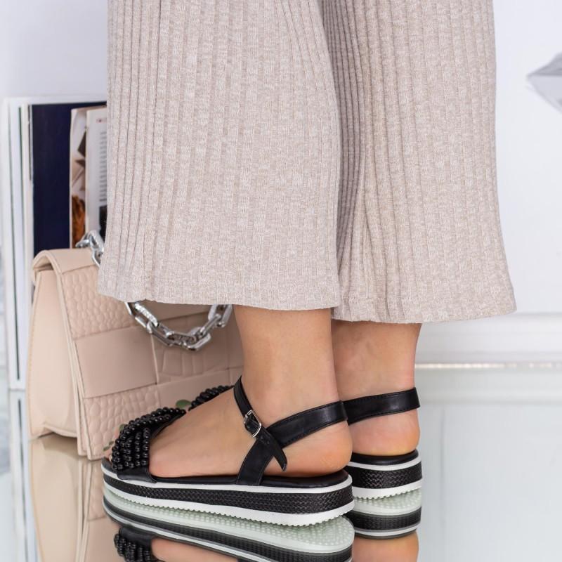 Pantofi Sport Dama cu Platforma 806 PSDP Yellow Mei