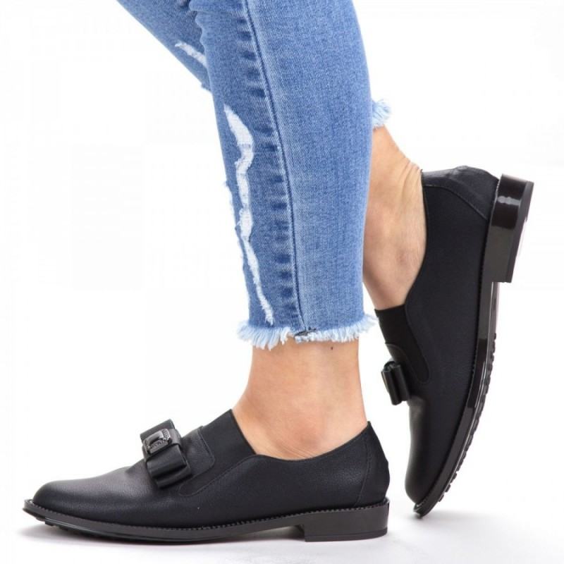 Pantofi Casual Dama YEH5 Black Reina