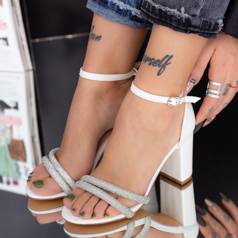 Pantofi cu Toc YXD3 Black Reina