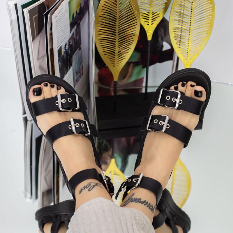 Pantofi Sport Dama YKQ195 Black Reina