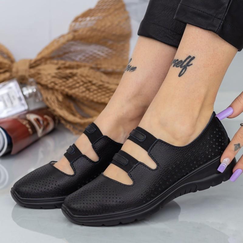 Pantofi Sport Dama cu Platforma 805 PSDP Blue Reina