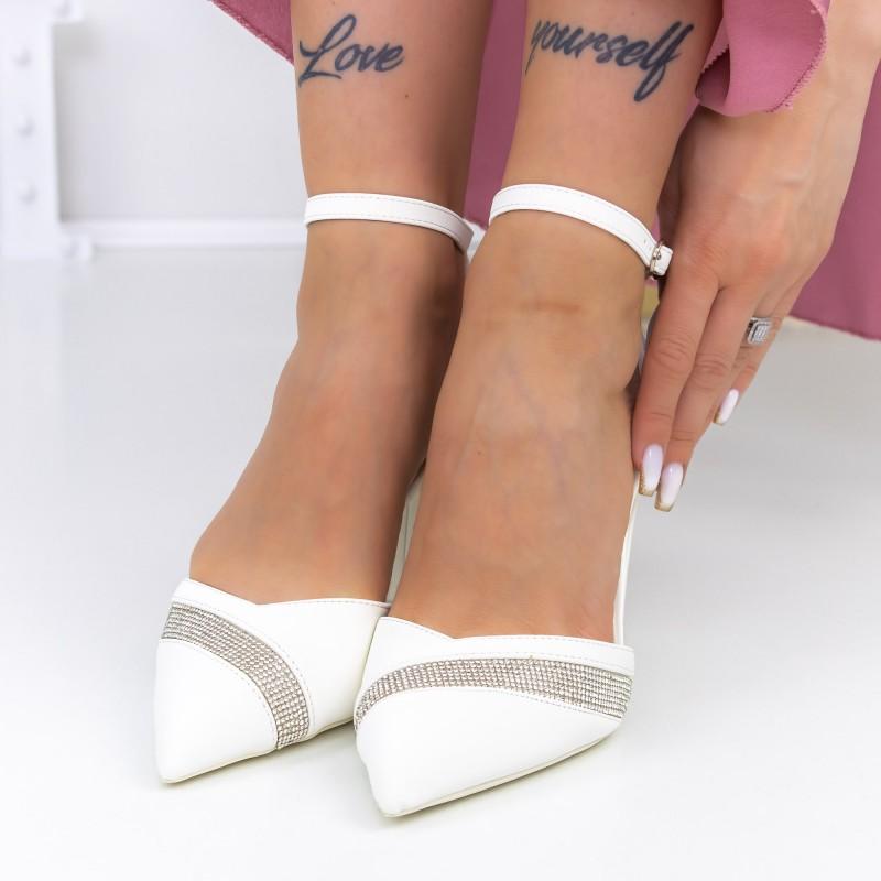 Sandale Dama cu Platforma NX93 Black Reina